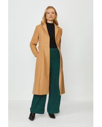 Coast Tailored Belted Coat - Natural