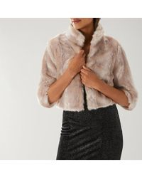 Coast - Lydia Faux Fur Jacket - Lyst
