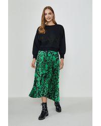 Coast Fringed Sweatshirt - Black