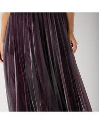 Coast Violetta Pleated Maxi Dress Cc - Multicolor