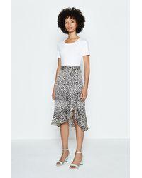 Coast Animal Print Skirt - Multicolour