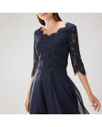 Coast - Tina Lace Top - Lyst