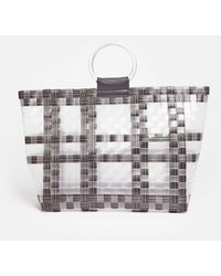 Coast Ring Handle Shopper Bag - Grey