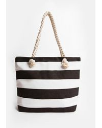 Coast Striped Beach Bag - Multicolour
