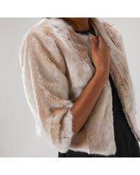 Coast - Laura Faux Fur Jacket - Lyst