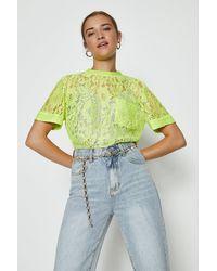 Coast Lace T-shirt - Multicolour