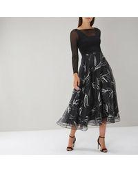 Coast - Amore Foil Printed Dress - Lyst