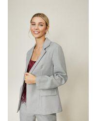 Coast Tailored Blazer - Grey