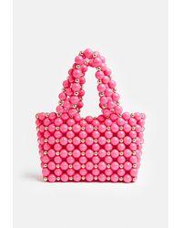 Coast Colour Beaded Bag - Pink
