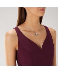 Coast - Maisie Crystal Necklace - Lyst