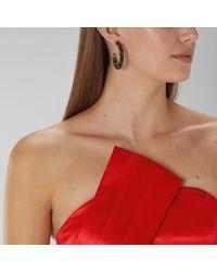 Coast - Elsie Sparkle Hoop Earrings - Lyst