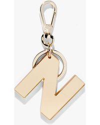 Coccinelle Small Alphabet Lovers Plexiglas und Metall - Mettallic