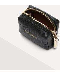 Coccinelle Trousse Small The Leather Is Treated With Special Machines And Then Tumbled To Keep Its Softness - Black