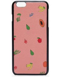 Coccinelle I-phone Plus 6/7 Cover Multicolor Sorbet Leather