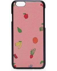 Coccinelle I-phone 6/7 Cover Multicolor Sorbet Leather