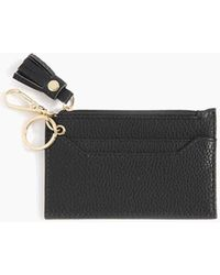 Shiraleah Cece Card Case With Keychain In Black