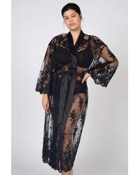 Rya Collection Darling Robe - Black