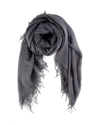 Chan Luu Cashmere And Silk Scarf - Gray