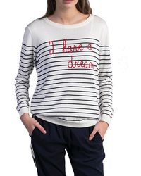 JEFF - Jack I Have A Dream Striped Sweater - Lyst