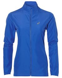 Asics - Running Jacket Women's Fleece Jacket In Multicolour - Lyst