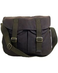 Barbour - Waxed Cotton Thornproof Tarras Bag - Lyst