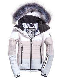 02c52eb34 Snow Cat Ski Down Jacket - White