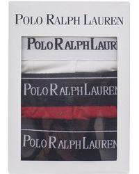 Polo Ralph Lauren - Cotton Pouch Trunks - 3 Pack - Lyst
