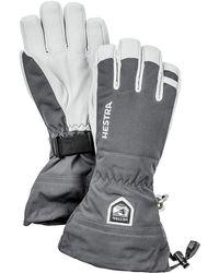 Hestra Army Leather Heli Ski Gloves - Multicolour