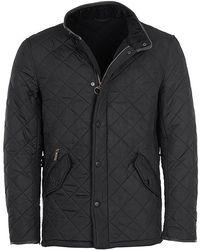 Barbour Powell Polarquilt Jacket - Black