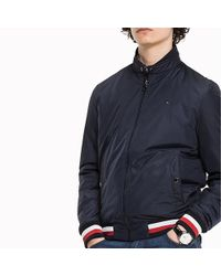 3a196aaad Tommy Hilfiger Bomber Jacket for Men - Lyst