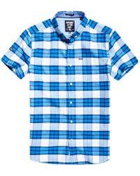 Superdry - Ultimate University Short Sleeve Oxford Shirt - Lyst