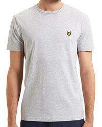 effbddd0e Lyle & Scott Crew Neck Short Sleeve T-shirt in Blue for Men - Lyst