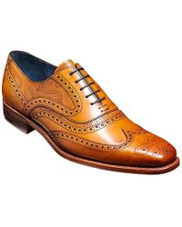 Barker Mens Shoes - Brown