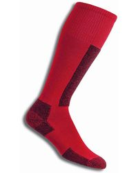 Thorlo Sl Unisex Ski Socks - Red