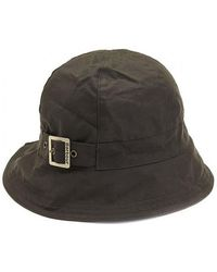 Barbour Wax New Trench Hat - Green