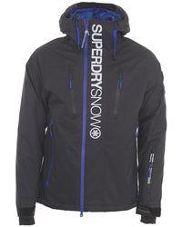 Superdry Super Sd Multi Ski Jacket - Blue
