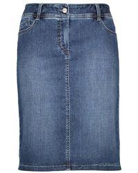 Gerry Weber Denim Skirt - Blue