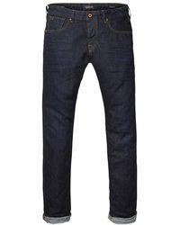 Scotch & Soda Ralston - Touchdown Regular Slim Fit Jeans - Blue
