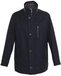 Bugatti Wool Gore-tex Coat - Black