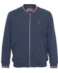 Ben Sherman Sweat Track Top - Blue
