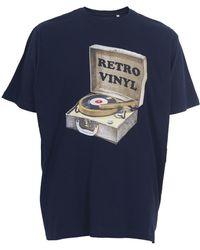 Espionage - T Shirt With Retro Vinyl Record Print - Lyst
