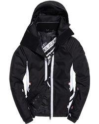 Superdry Super Slalom Ski Jacket - Black