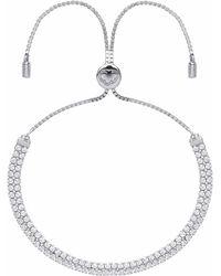 Estella Bartlett - Double Strand Tennis Bracelet - Lyst