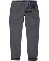Ted Baker Textured Chinos - Gray