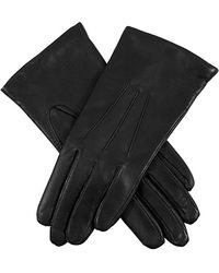 Dents Emma Classic Hairsheep Leather Gloves - Black