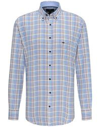Fynch-Hatton - Summer Check Shirt - Lyst