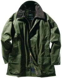 Barbour - Classic Beaufort Waxed Jacket - Lyst