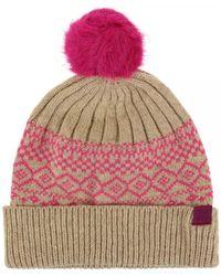 99adfc8c6 Elsa Fairisle Knitted Bobble Hat