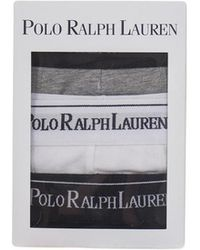 Polo Ralph Lauren - Three Pack Cotton Pouch Trunks - Lyst