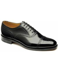 Loake - 201b Semi-brogue Shoes - Lyst